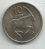 Botswana 10 Thebe 1976. - Botswana