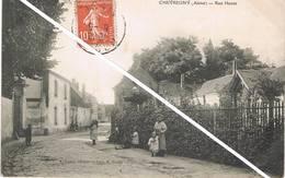 CHEVREGNY (Aisne) - Rue Haute - Animée - Francia