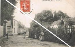 CHEVREGNY (Aisne) - Rue Haute - Animée - Sonstige Gemeinden
