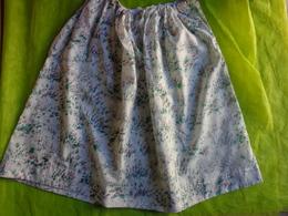 Lot De Vetements  Vintage -retro-jupe Nylon-jupon Pour Folklore-chemisier -serviette Monogramme SB - Vintage Clothes & Linen