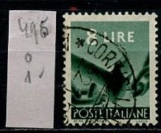 Italie - Italy - Italien 1945-48 Y&T N°495 - Michel N°696 (o) - 8l Bris De Chaîne - 5. 1944-46 Lieutenance & Humbert II: