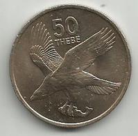Botswana 50 Thebe 1976. - Botswana