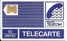 CARTE-PUBLIC-PY17-50U-SC4ob-PYJAMA-Typo-V° PUCE Transparente-Logo FT- V° Sans/N° NON Référencée-BE RARE - France