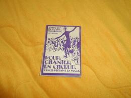 RECUEIL POUR CHANTER EN CHOEUR TOUS LES REFRAINS EN VOGUE..EDITIONS FRANCIS SALABERT. / 6e RECUEIL.. - Chant Chorale