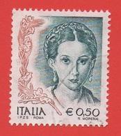 2002 (2590) La Donna Nell'arte Eu 0,50 - Leggi Il Messaggio Del Venditore - 2001-10: Usati