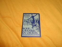 RECUEIL POUR CHANTER EN CHOEUR TOUS LES REFRAINS EN VOGUE..EDITIONS FRANCIS SALABERT. / 10e RECUEIL.. - Chant Chorale
