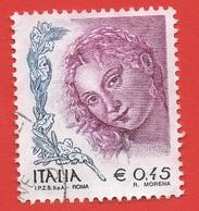 2003 - 2004 (2726) La Donna Nell'arte Euro 0,45 - Leggi Messaggio Del Venditore - 2001-10: Usati