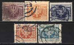 POLONIA - 1924 - STEMMA DELLA POLONIA - USATI - 1919-1939 Repubblica