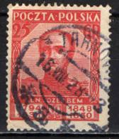 POLONIA - 1928 - GENERALE JOZEF BEM - USATO - 1919-1939 Repubblica