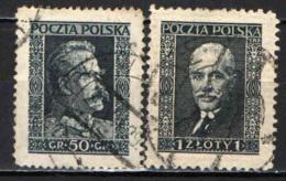 POLONIA - 1928 - RITRATTO DEL MARESCIALLO PILSUDSKI - RIVOLUZIONARIO POLACCO - USATI - 1919-1939 Repubblica