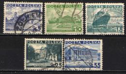POLONIA - 1935 - MONUMENTI DELLA POLONIA - USATI - 1919-1939 Repubblica