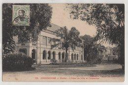 8746 Cochinchine Vietnam Cholon Hotel Stamping Indo-Chine - Vietnam