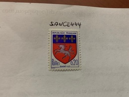 France Coat Of Arms Saint-lo 1966 Mnh - France