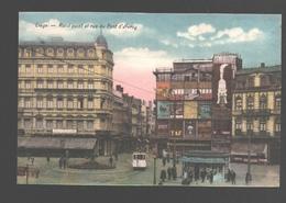 Liège - Rond Point Et Rue Du Pont D'Avroy - Tram / Tramway - Liege