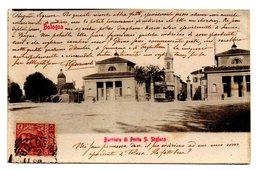 BOLOGNA BARRIERA DI PORTA S. STEFANO  1903 - Bologna