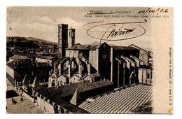BOLOGNA S. FRANCESCO  ABSIDE,FIANCO NORD,TOMBE DEI GLOSSATORI  1906 - Bologna