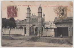 8750 Cochinchine Vietnam Saigon Mosquee Des Musulmans Stamping Indo-Chine - Vietnam
