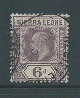 Sierra Leone 1903 KEVII 6d Sound Used - Sierra Leone (...-1960)