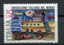 Italia (1975) - Emigrazione Italiana Nel Mondo ** - 6. 1946-.. Repubblica