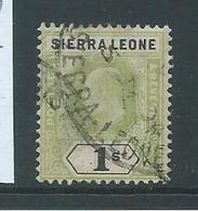 Sierra Leone 1903 KEVII 1 Shilling Sound Used - Sierra Leone (...-1960)