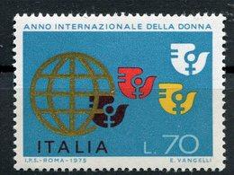 Italia (1975) - Anno Internazionale Della Donna ** - 6. 1946-.. Repubblica