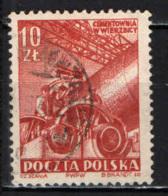 POLONIA - 1952 - PIANO DI SVILUPPO DELL'INDUSTRIA DEL CEMENTO - USATO - Usati