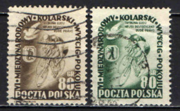 POLONIA - 1953 - 6° GIRO CICLISTICO DELLA PACE: VARSAVIA-PRAGA-BERLINO - USATI - Usati