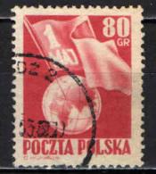 POLONIA - 1953 - FESTA DEL 1° MAGGIO - USATO - Usati