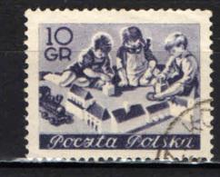 POLONIA - 1954 - EDUCAZIONE DELL'INFANZIA - USATO - Usati