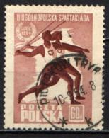POLONIA - 1954 - SPORT ESTIVI - USATO - Usati