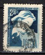 POLONIA - 1957 - 3° CONCORSO PER VIOLINISTI - HENRI WIENIAWSKI - USATO - Usati