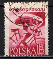 POLONIA - 1957 - 10° TOUR DELLA PACE - GARA DI CICLISMO VARSAVIA-BERLINO-PRAGA - USATO - Usati