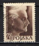 POLONIA - 1957 - 20° ANNIVERSARIO ELLA MORTE DI ANDRZEJ STRUG - NOVELLIERE POLACCO - USATO - Usati