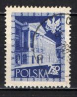 POLONIA - 1958 - 10° ANNIVERSARIO DELL'UNIVERSITA' DI VARSAVIA - USATO - Usati