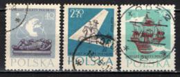 POLONIA - 1958 - 400° ANNIVERSARIO DELLE POSTE DELLA POLONIA - USATI - Oblitérés
