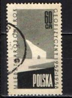 POLONIA - 1958 - ANNO GEOFISICO INTERNAZIONALE - USATO - Usati