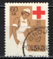 POLONIA - 1959 - CROCE ROSSA - USATO - Usati