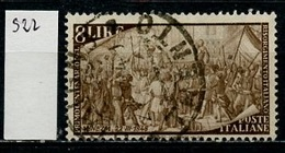 Italie - Italy - Italien 1948 Y&T N°522 - Michel N°752 (o) - 8l Venise - 6. 1946-.. Republik