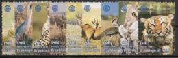 Niger - 1998 - N°Yv. 1052 à 1060 - Faune / Rotary / Animals - Neuf Luxe ** / MNH / Postfrisch - Félins