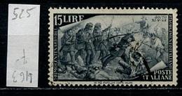 Italie - Italy - Italien 1948 Y&T N°525 - Michel N°755 (o) - 15l Goito - 6. 1946-.. Republik