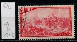 Italie - Italy - Italien 1948 Y&T N°526 - Michel N°756 (o) - 20l Bologne - 6. 1946-.. Republik