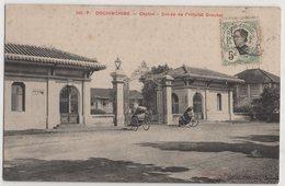 8754 Cochinchine Vietnam Cholon Entree De Hospital Stamping Indo-Chine - Vietnam