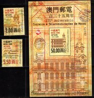 MACAO, 2019, MNH, 135th ANNIVERSARY OF MACAO POST, 2v+ LIMITED PRINTING S/SHEET - Post
