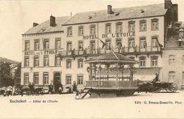 ROCHEFORT - Hôtel De L'Etoile. Animée, Calèches, Chevaux. - Namur