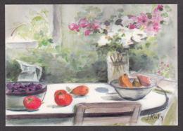 PR114/ Simone RATHY, Artiste Belge, Aquarelle - Peintures & Tableaux
