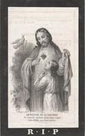 Petrus Dewolf-opbrakel -segelsem 1878 - Images Religieuses