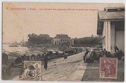 8758 Cochinchine Vietnam Saigon Quay Stamping Indo-Chine - Vietnam