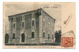DINTORNI D'IMOLA MONTE RICCO VILLA PASOLINI GIA' CODRONCHI  1903 - Imola