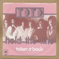 """7"""" Single, Toto, Hold The Line - Rock"""