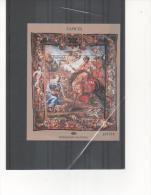 ESPAÑA-Hoja Bloque 4579 Tapices Patrimonio Nacional - Blocs & Hojas